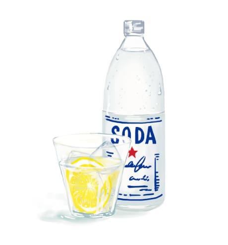 レモン酢炭酸水