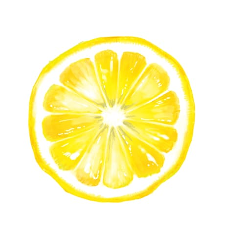 レモン輪切り画像