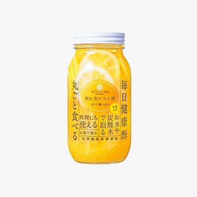 飲む生レモン酢生姜820g