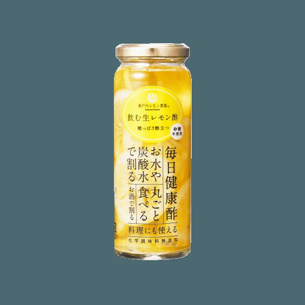 飲む生レモン酢無糖220g